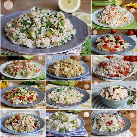INSALATE DI RISO tante ricette gustose di riso freddo