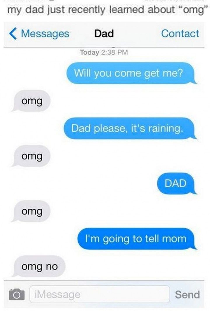 19 Funny Texts From Parents - OMG.