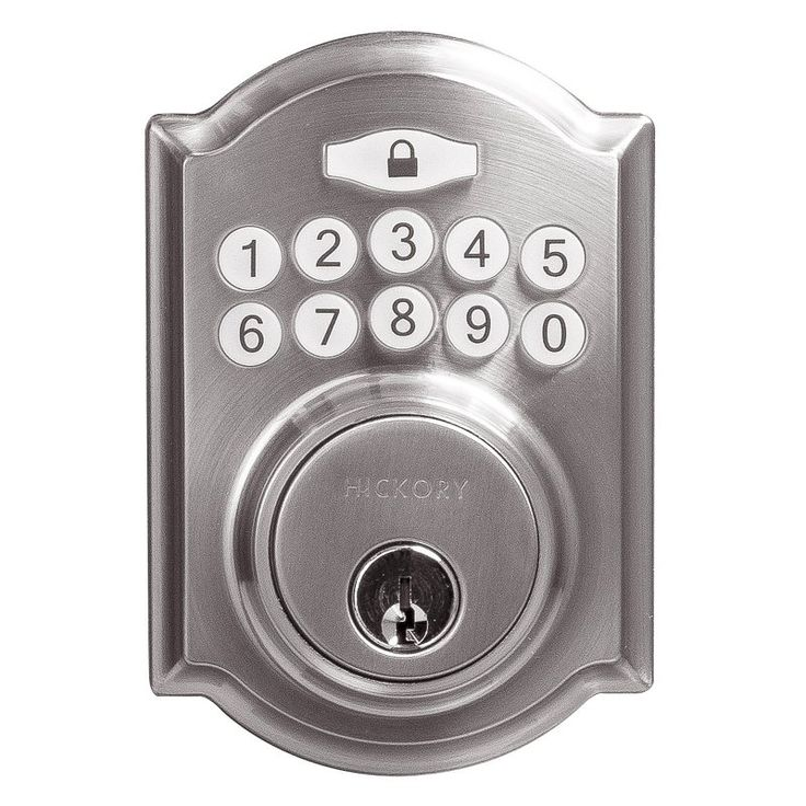 Hickory Hardware Traditional Electronic Keypad Deadbolt - HH075772-SN