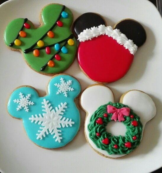 Galletas Navidad Mickey