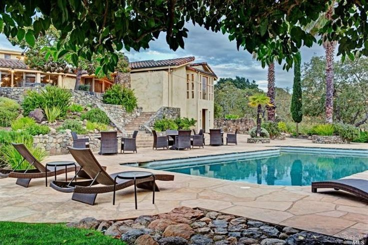 Pool Vineyard Fresh California Air Doesn T Get Much