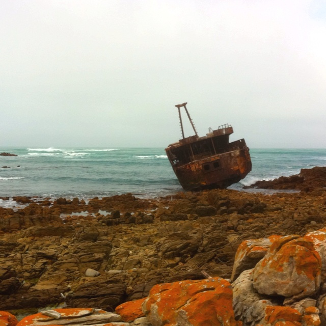 Ship Wreck - Cape Aghulas