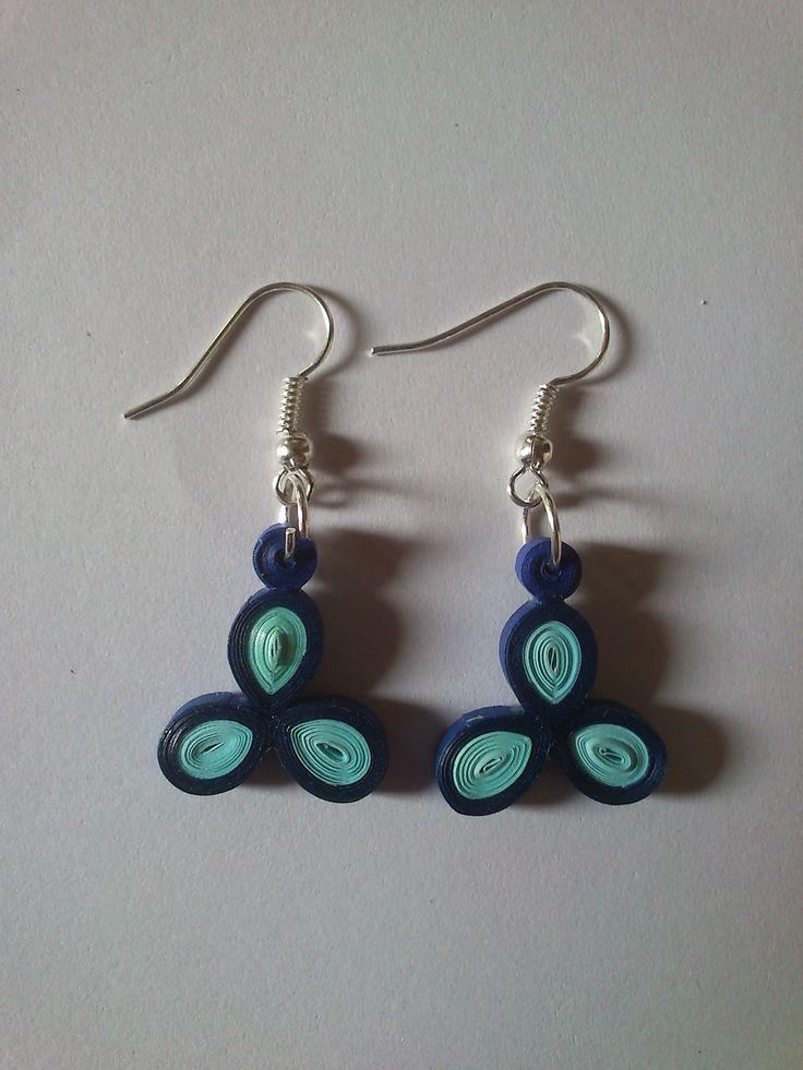 paper ear rings