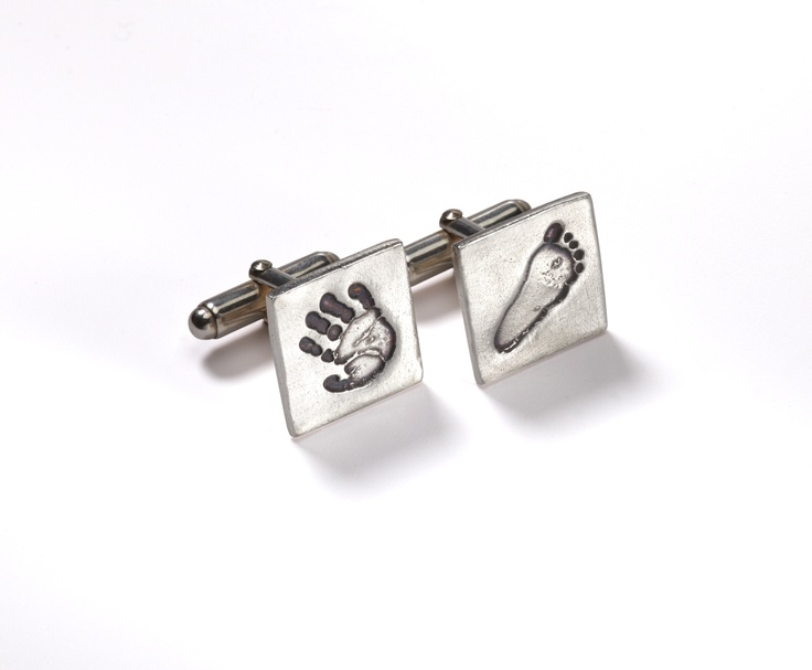 High Five & Little Kicker cufflinks from Smallprint. www.smallprint.co.za