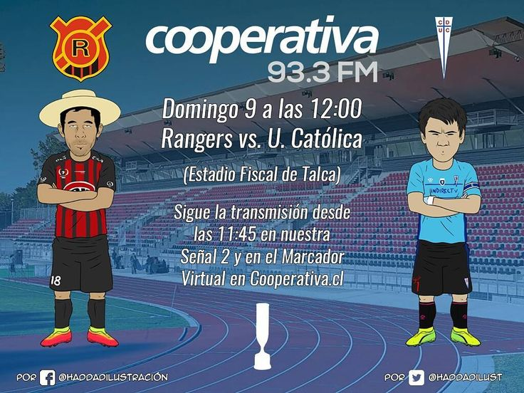 Este domingo vuelve el fútbol de la Copa Chile a Cooperativa! Rangers recibirá a U. Católica con el Chupallita Fuentes como figura