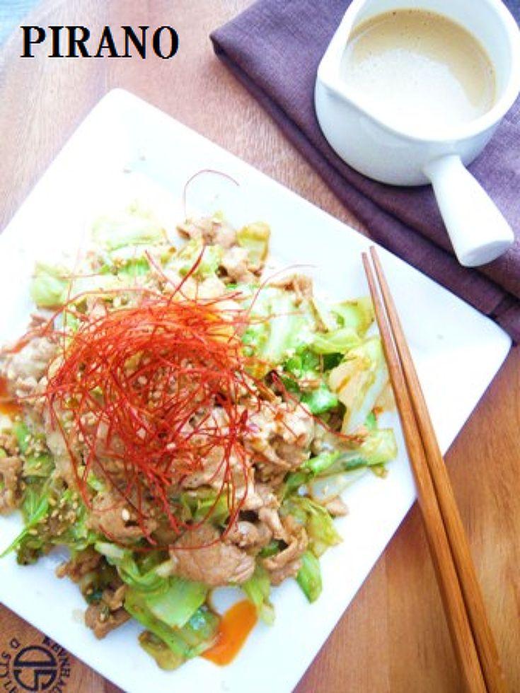 【291kcal】豆乳坦々タレで♪簡単みそ豚キャベツ♪ by 平野信子 | レシピサイト「Nadia | ナディア」プロの料理を無料で検索
