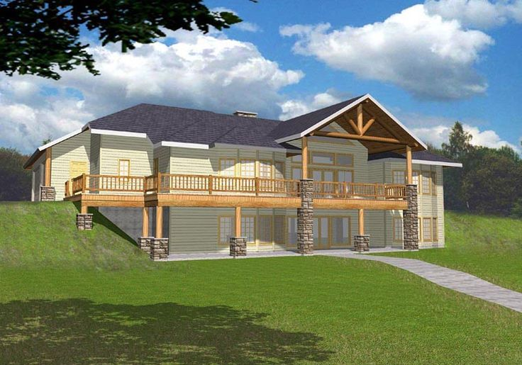 Ranch Style House Plan 85315 With 4 Bed 4 Bath 3 Car