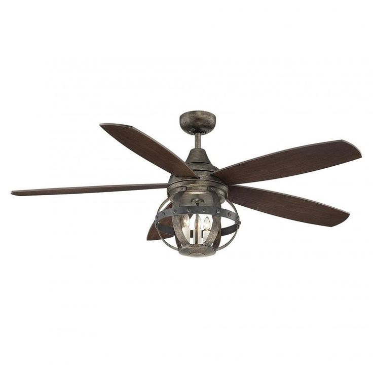 Illumine Aumbrie 52 in. Reclaimed Wood Indoor/Outdoor Ceiling Fan-CLI-SH0243967 - The Home Depot