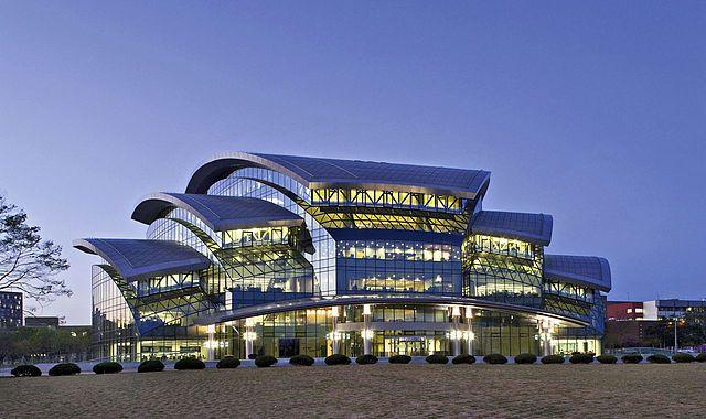 The Samsung Library at Sungkyunkwan University Natural Sciences Campus in  Suwon, South Korea | Universitas, Dunia, Seoul