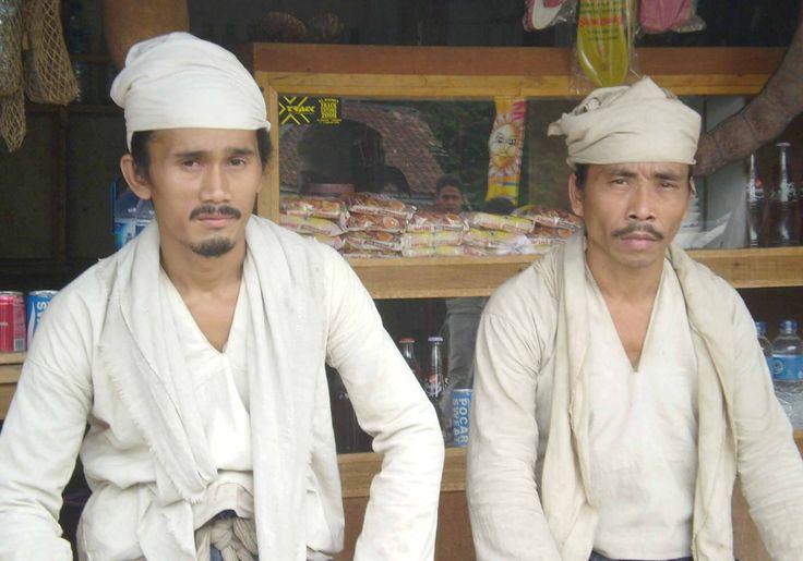 Baduy Dalam tribe (outer Baduy), Indonesia