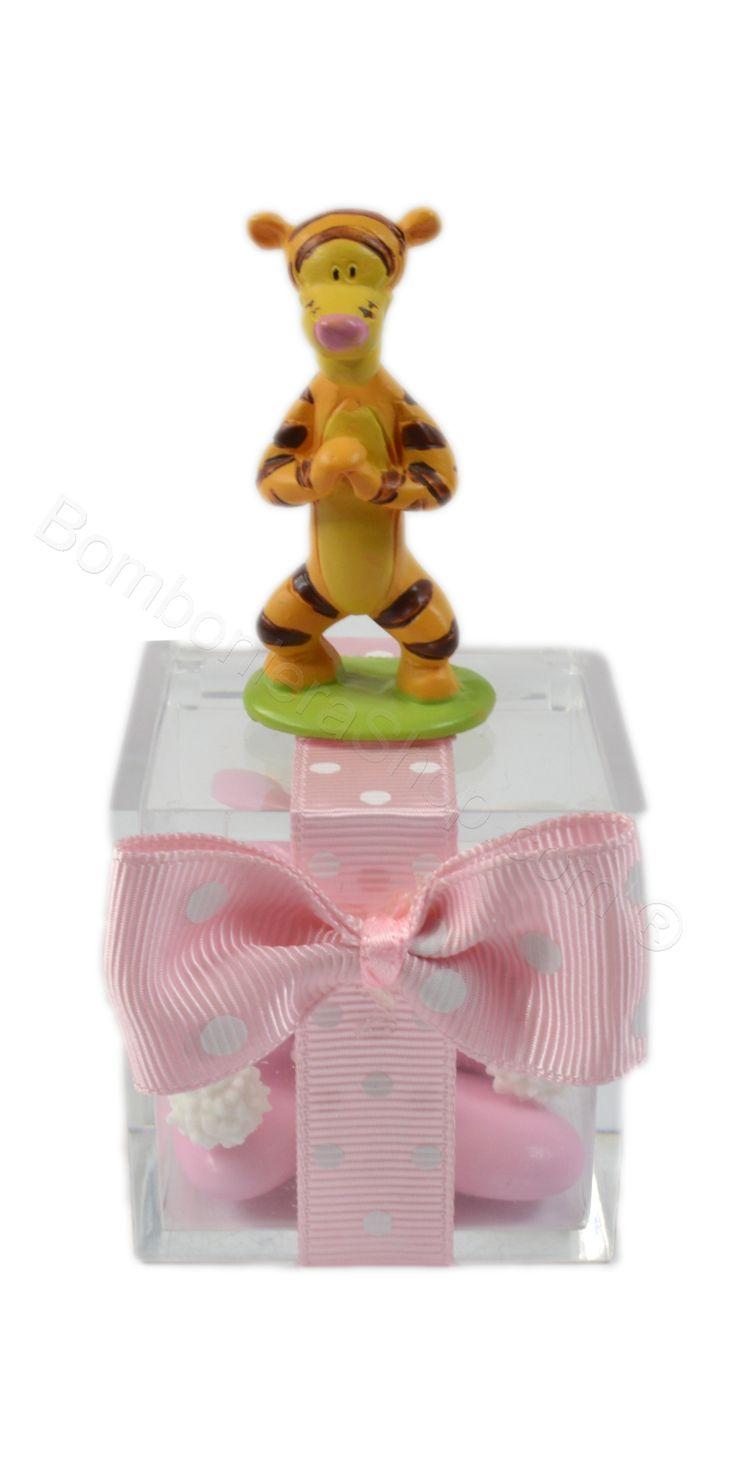 Scatolina plexiglass con animaletti savana #scatolina #portaconfetti #bomboniera #bambina #primacomunione #economica