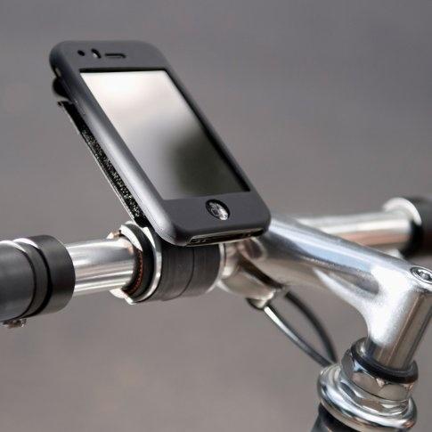 Intelligente iPhone-Halterung für den Fahrradlenker - Klick, Klack und Los !