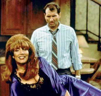 Still of Katey Sagal and Ed O'Neill in Married with Children: