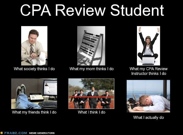 This is so true - CPA review woes