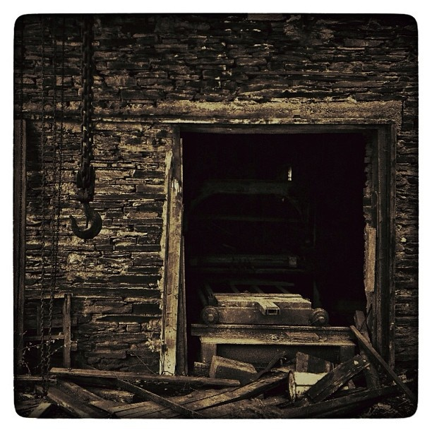 Abandoned Slate Mine #dark #urbex #lostplace