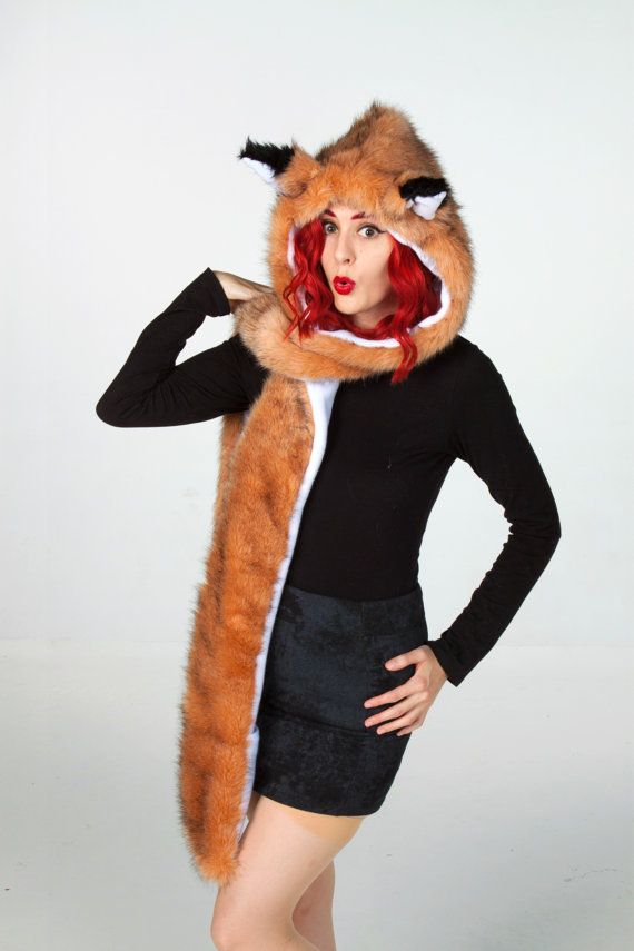 Hey, I found this really awesome Etsy listing at https://www.etsy.com/listing/203855720/animal-ear-hat-with-fox-ears-hood-schood