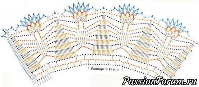 Схемы воротничков, связанных крючком - запись пользователя Татьяна (Татьяна) в сообществе Вязание крючком в категории Вязаные крючком аксессуары