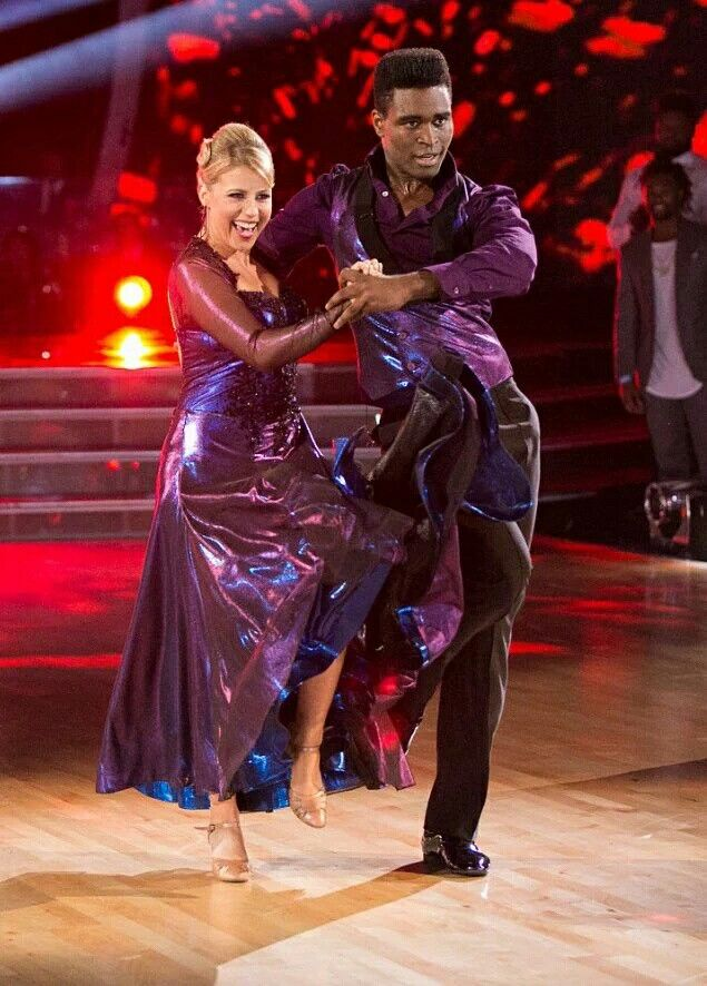 Keo Motsepe & Jodie Sweetin Dancing with the stars