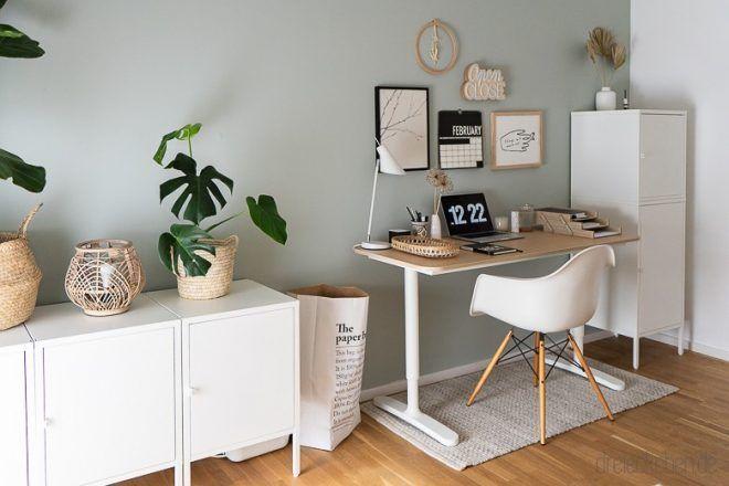 Arbeitszimmer Einrichten Ideen Fur Das Buro Zuhause Blog Dreieckchen In 2020 Arbeitszimmer Einrichten Zimmer Einrichten Gastezimmer Einrichten