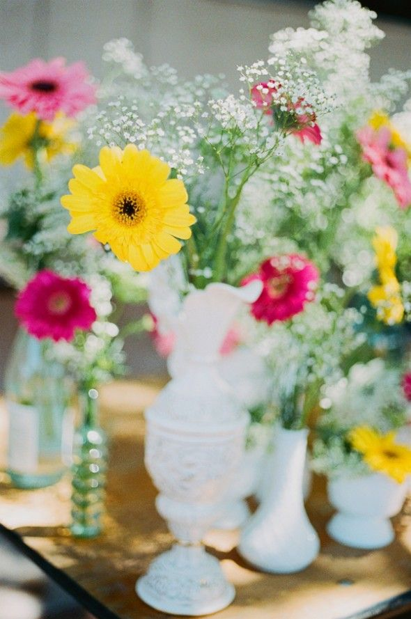 Rustic Wedding Flowers. flowers for center peices