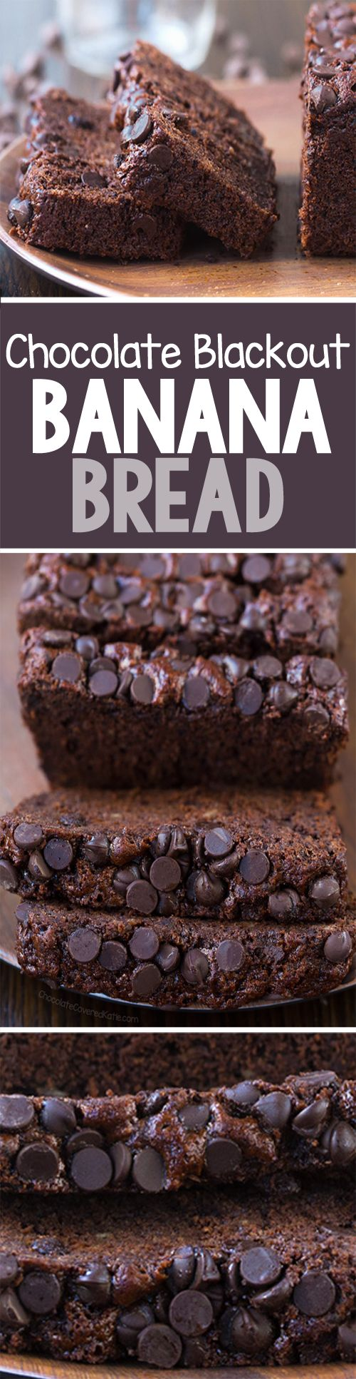 Once I learned the secret to making dark chocolate banana bread that is richer and more chocolatey, I never looked back!