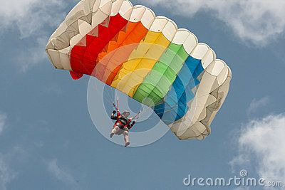 The Girl With The Parachute - Download From Over 24 Million High Quality Stock Photos, Images, Vectors. Sign up for FREE today. Image: 41623035