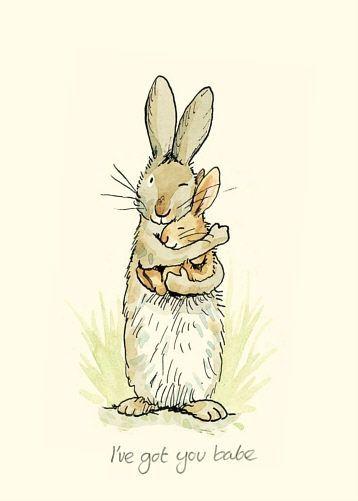 Two Bad Mice Greeting Card - Ive Got You Babe by Anita Jeram - £1.99 -
