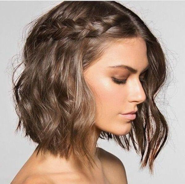 Schone Und Einfache Frisuren Fur Mittellange Haare Frais Taglichen Frisuren Vorschlage Fur Frisuren Festliche Frisuren Kurzes Haar Schone Frisuren Kurze Haare