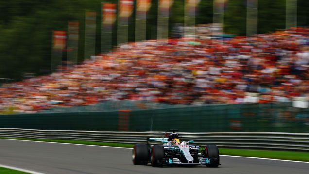 Lewis Hamilton Smashes The Track Record At Spa-Francorchamps In Qualifying