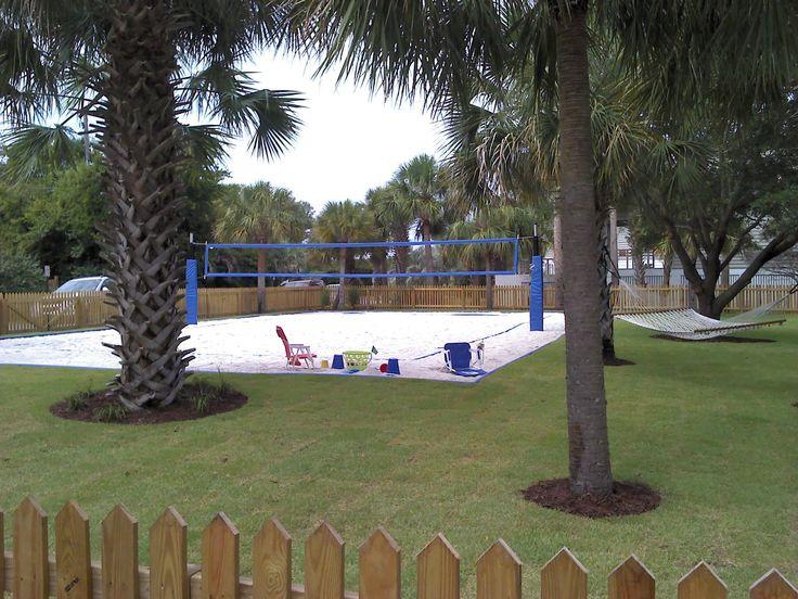 Backyard Volleyball Court Sand Volleyball Court
