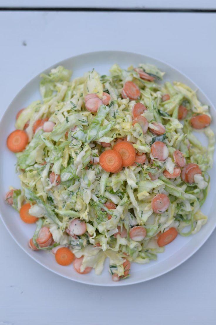 varhaiskaali salaatti