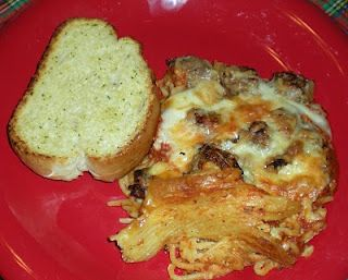 Spaghetti CasseroleDinner 1, Spaghetti Casseroles