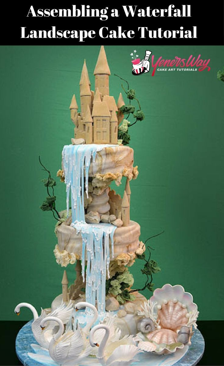 Loved watching this cake come to life and he makes it look so easy. Awesome tutorial