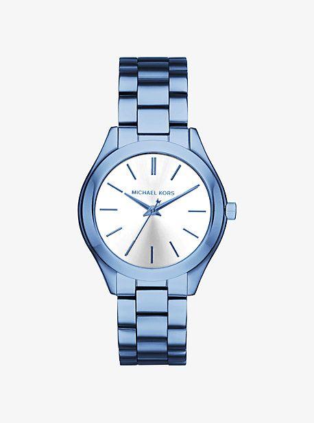 Slim Runway Cerulean-Tone Watch