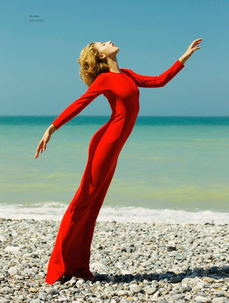 SnC Magazine Septiembre 2012 - Adeline Jouan por Nikolay Biryukov.