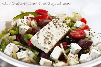 insalata greca!