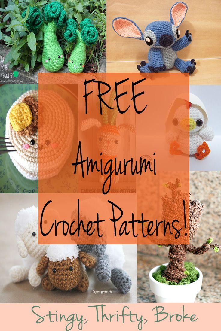 FREE Amigurumi Crochet Patterns!