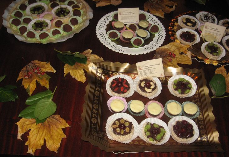 Almha Rhais~ November  Raw Sweets