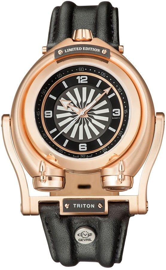 Gevril Men's Triton Swiss Automatic Watch