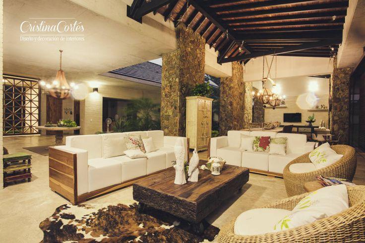 Diseños para la finca: casa de un solo piso con preciosa terraza (de Everleen Luis Fernando Cabrera Mejía)