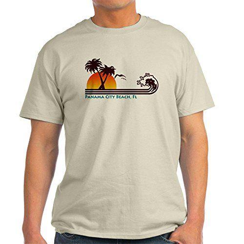 CafePress Panama City Beach Light T-Shirt - L Natural