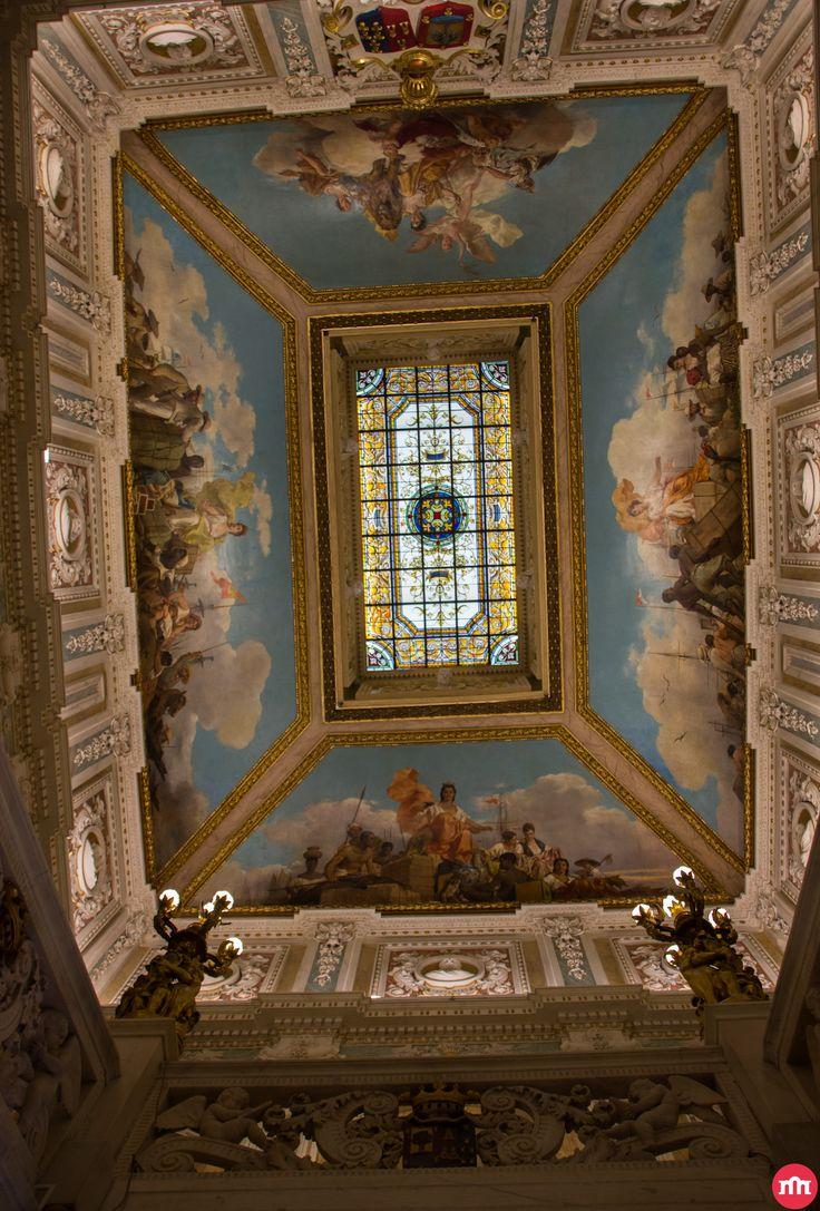 505 best images about palacios de madrid on pinterest solar real madrid and antigua - Casa santona madrid ...
