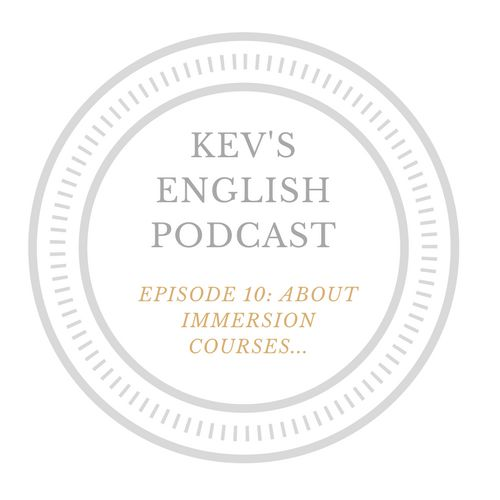 Hello, in this belated episode I talk about my experience at a week long intensive English course I attended a while ago. If you are not familiar with the concept, the idea is to spend a week or th…