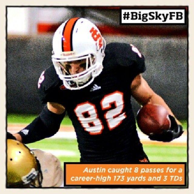 Oct. 14th - Idaho State's Luke Austin is your ROOT SPORTS #BigSkyFB Co-Offensive Player of the Week. #GoISU @Idaho State University