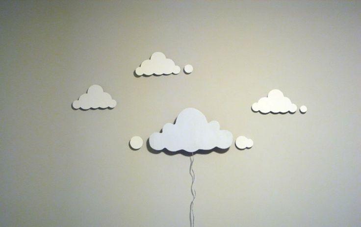 applique murale nuage très originale