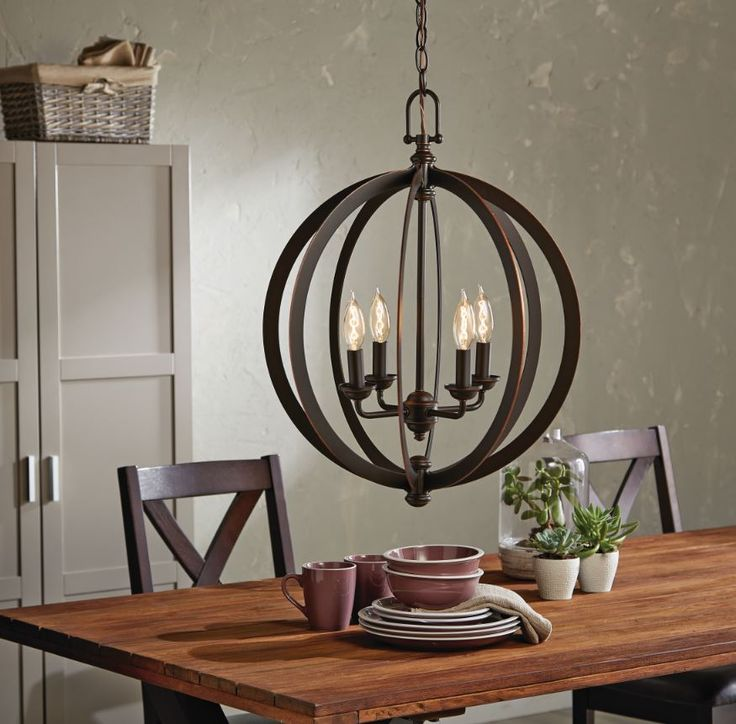 Add style and elegance to any room with this CANVAS Tobin Ceiling Pendant.  Check out our CANVAS Lighting Collection for more rustic, mid-century design lighting ideas.
