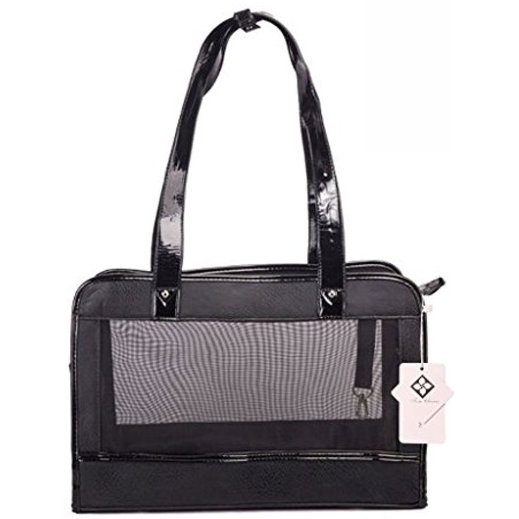 Tom Clovers Pet Carrier Comfortable Dog Carrier Handbag with Breathable Mesh Panel for Outdoor Walking Hiking and Traveling ~~~ Do you want additional info? Click on the image. (This is an affiliate link and I receive a commission for the sales)