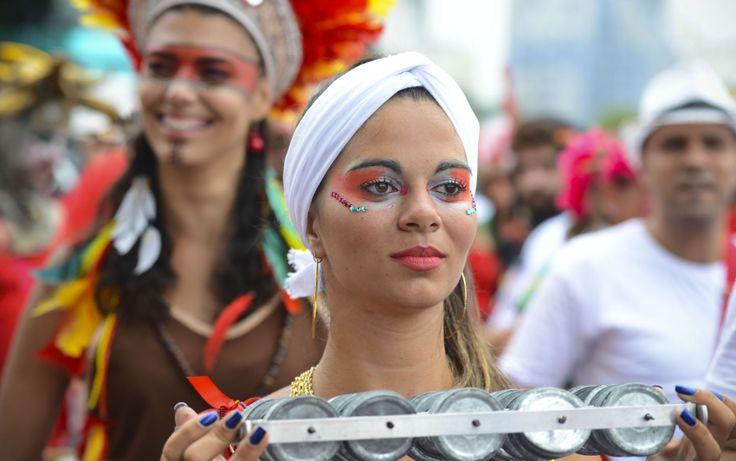 Street carnival in Rio de Janeiro 2014
