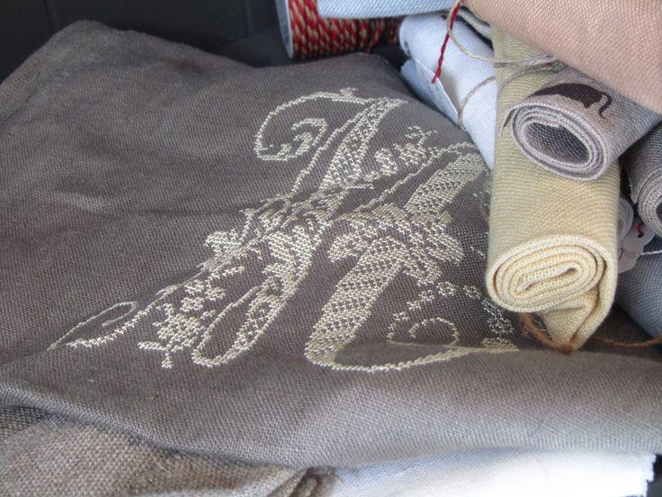 Lin et fil de soie