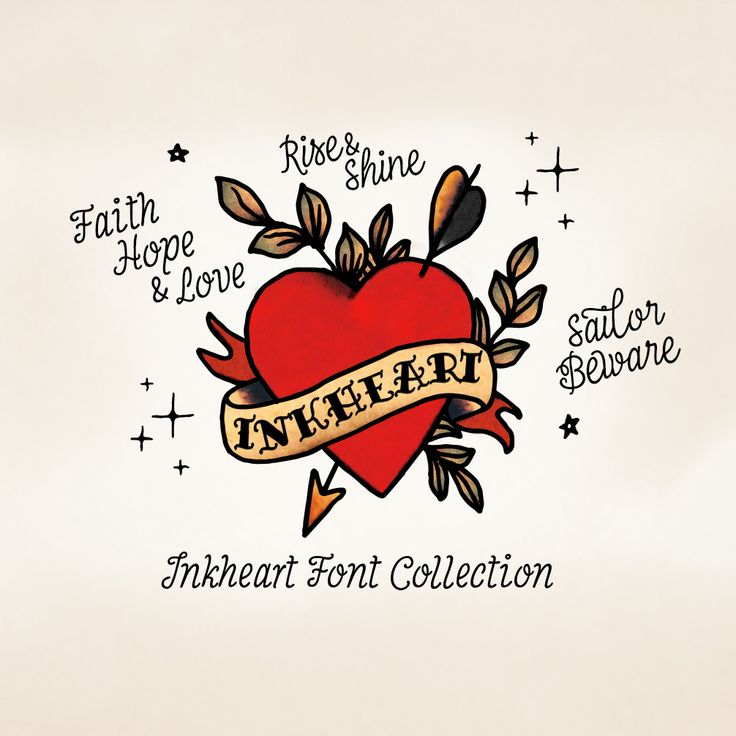 Inkheart typefamily by Fenotype